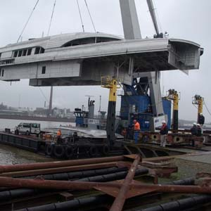 new yacht construction